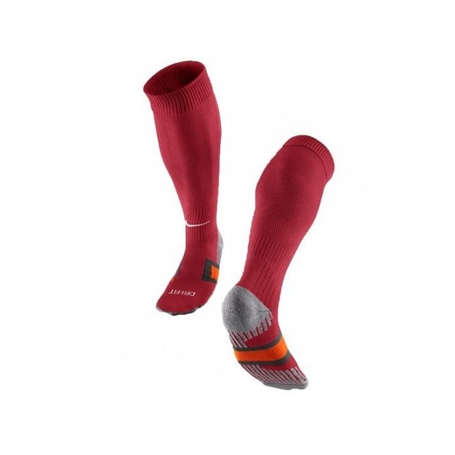 Nike Compression Socks (Dark Red/White)