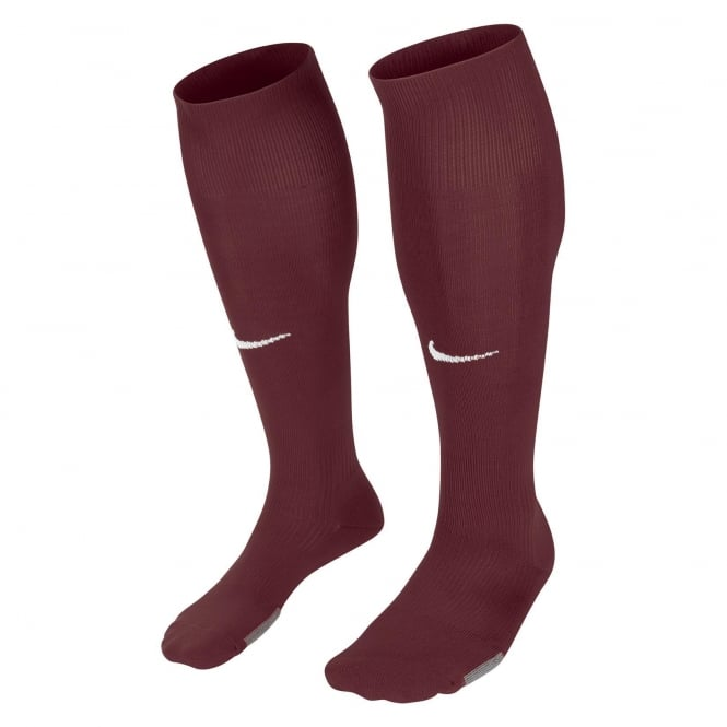 Nike Park Socks (Bordeaux/White)