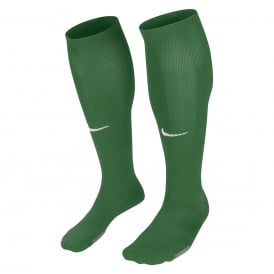 Park Socks (Pine Green/White)