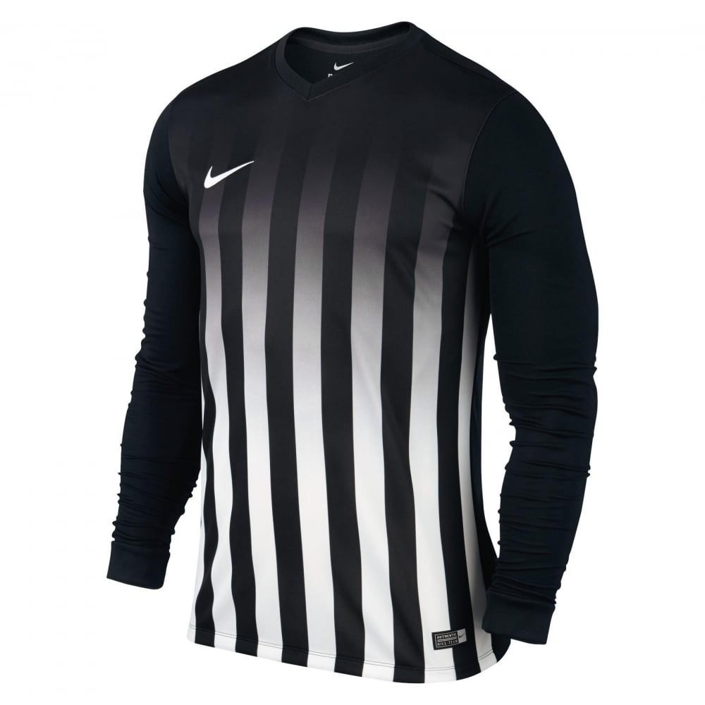 Nike Striped Division II Long Sleeve Shirt - Shirts from MatchWinner UK fe8865887
