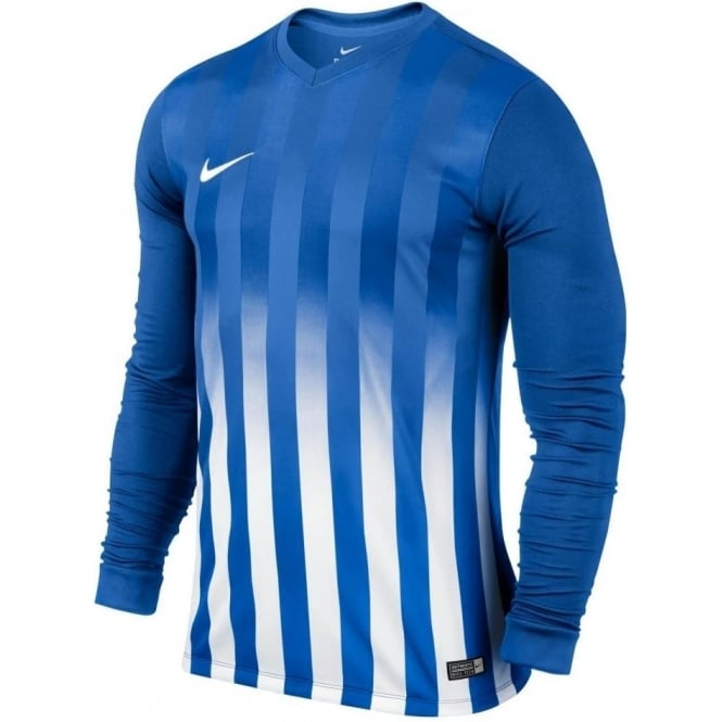 Nike Striped Division II Long Sleeve Shirt Youth