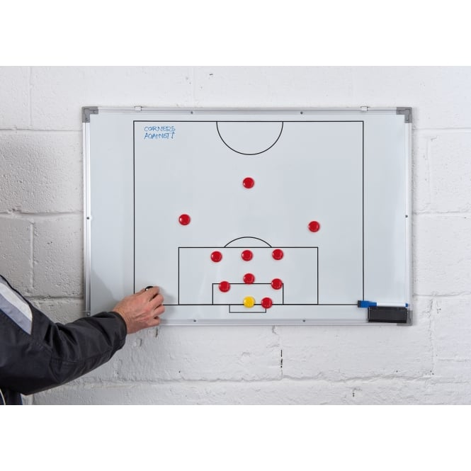 Precision Double-Sided Football Tactics Board (60x90cm)