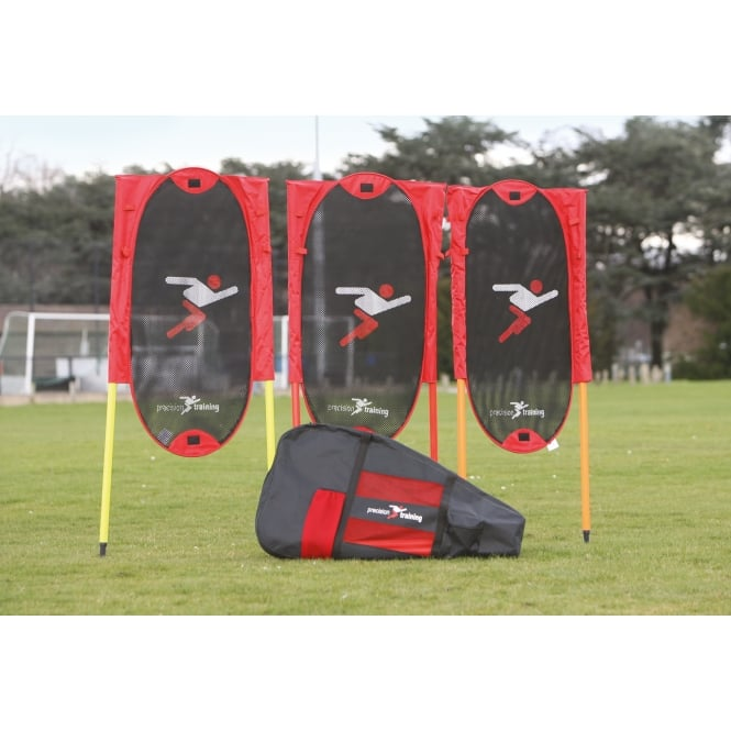 Precision Folding Free Kick Man Kit + poles
