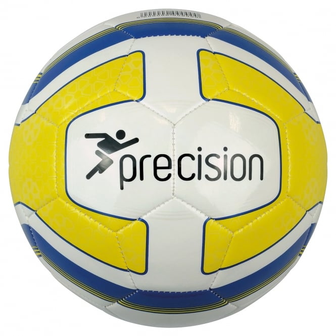 Precision Santos Training Ball - Yellow/Royal