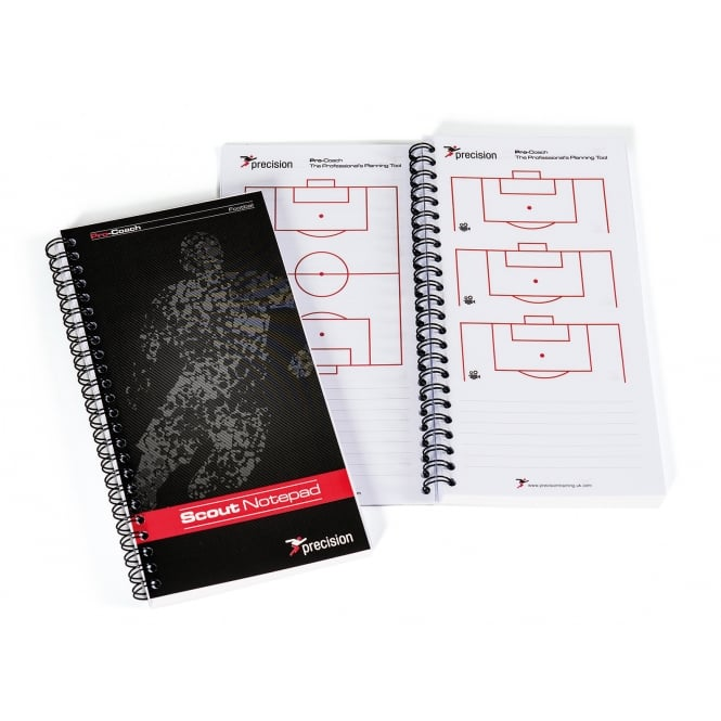 Precision Slimline Scouts Notepad - Football A5