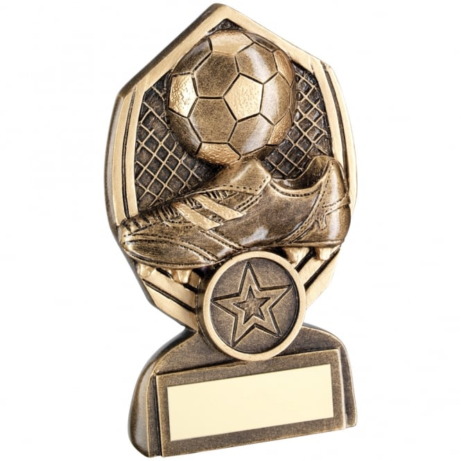 Trophies and Awards Boot & Ball in Net Diamond Trophy