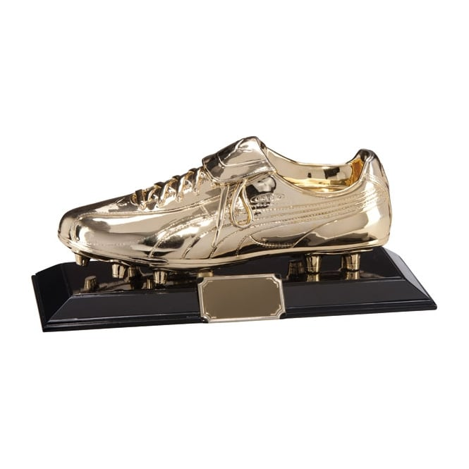 Trophies and Awards Classic Puma King Golden Football Boot Award Trophy