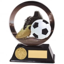 Dominion Football Boot & Ball Acrylic