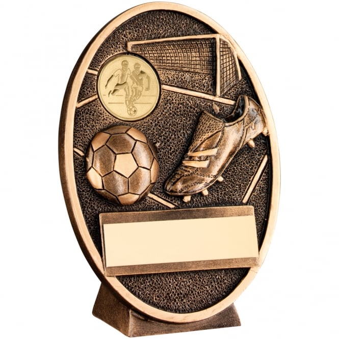 Trophies and Awards Football and Boot Oval Plaque Trophy
