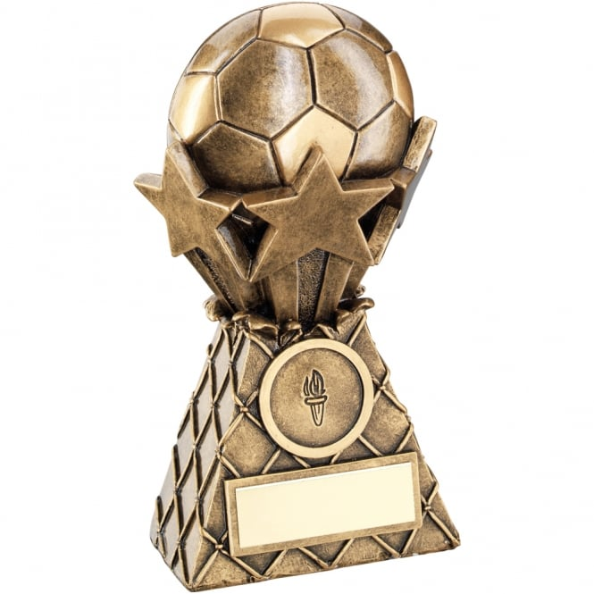 Trophies and Awards Football and Stars Net Burst Trophy