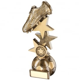 Football Boot on Multi-Star Riser Trophy
