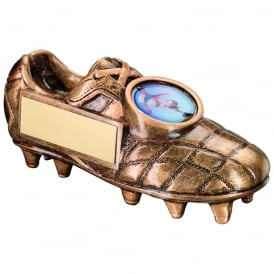 Football Boot with Side Plaque Trophy