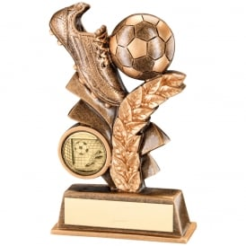 Football Leaf Plaque Trophy