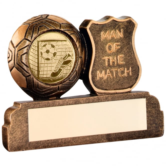 Trophies and Awards Football 'Man Of The Match' Award