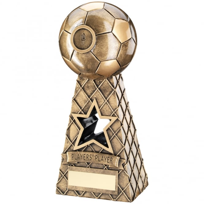 Trophies and Awards Football Net Pyramid Trophy - Players Player