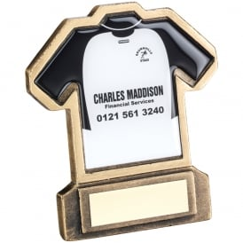 Football Shirt Trophy with your own design