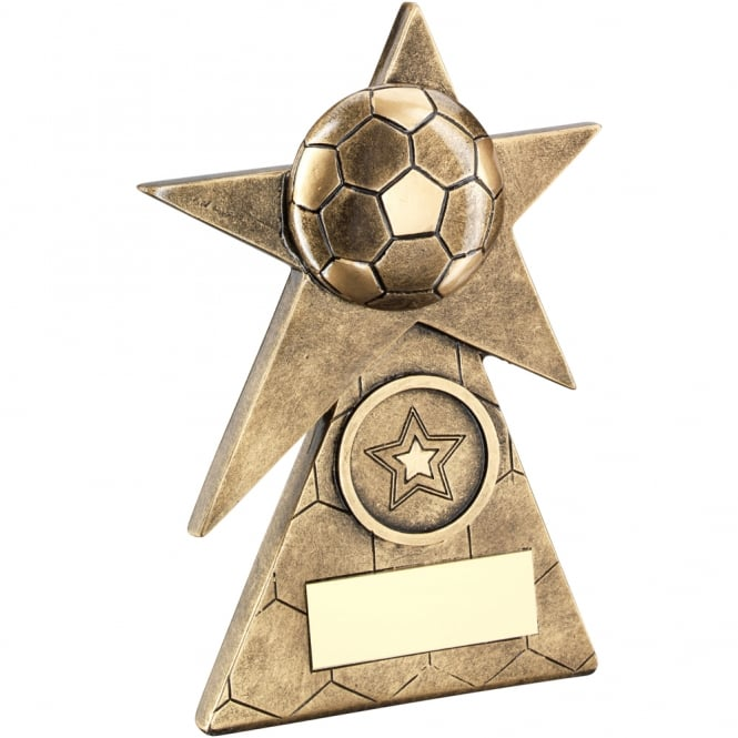 Trophies and Awards Football Star on Pyramid Base Trophy