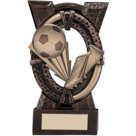Maverick Spirit Football Boot Bronze Trophy