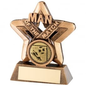 Mini Star Man of the Match Trophy