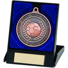 Olympia Football Medal & Box