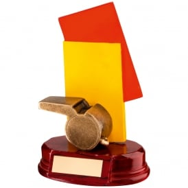 Referee 'Cards and Whistle' Trophy