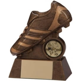 Scorcher Boot Football Award Trophy