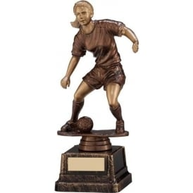 Swerve Female Football Trophy