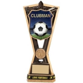 Titans Football Clubman Award Trophy (with wristband)