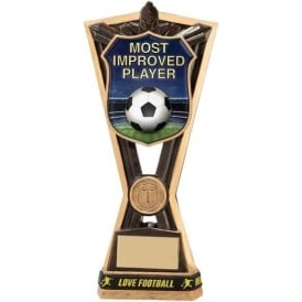 Titans Most Improved Player Award Trophy (with Wristband)
