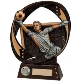 Typhoon Goalkeeper Award Trophy