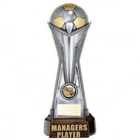 World Football Managers Player (Gunmetal & Gold)
