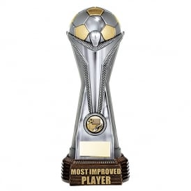 World Football Most Improved Player (Gunmetal & Gold)
