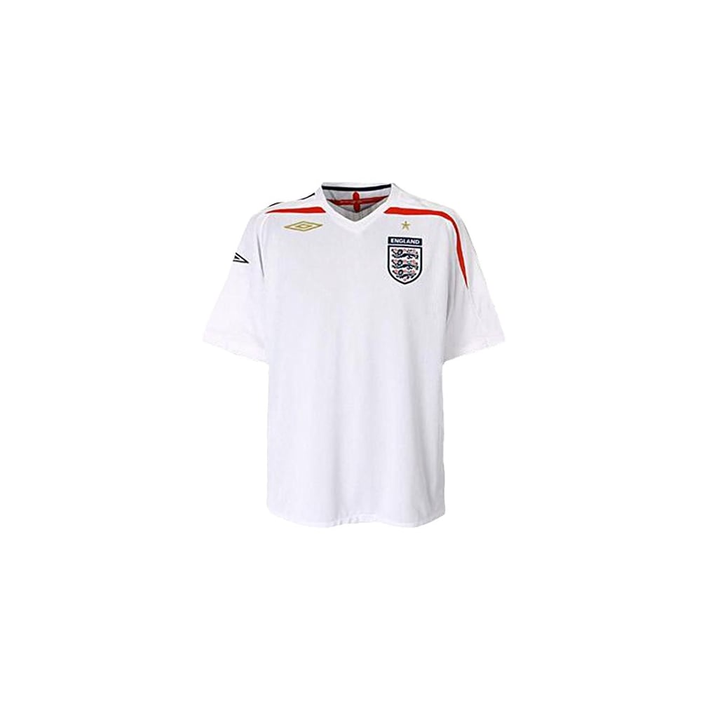 5e19359d274 Umbro England Football Shirt (2007-2009) Junior - Shirts from ...
