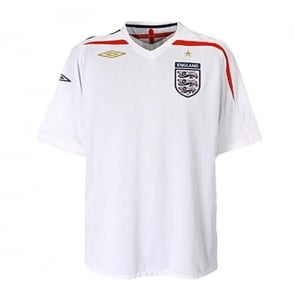 England Football Shirt (2007-2009) Junior